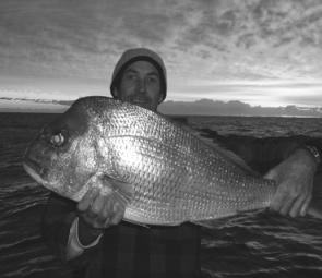Snapper will be on the top of catch lists this month. This specimen was caught on a Fishing Offshore Noosa charter out of Harbourtown, Noosaville.
